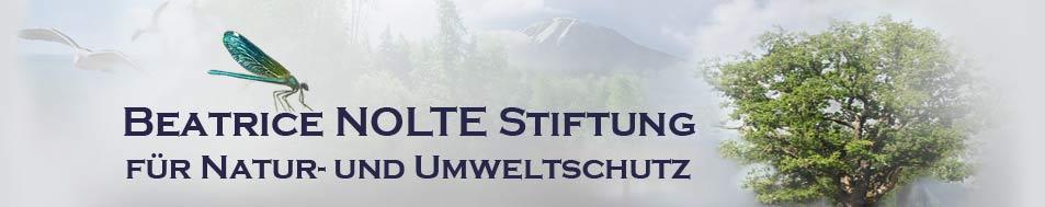 Beatrice Nolte Stiftung – für Natur und Umweltschutz